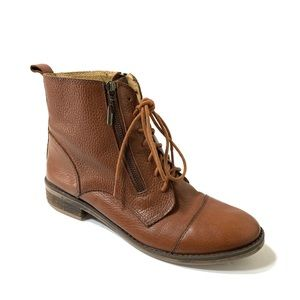 Lucky Brand Lace Up Nahdia Boots